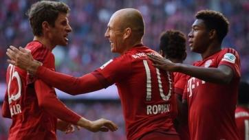 «Бавария» одержала тысячную победу в Бундеслиге