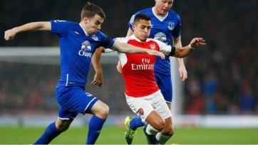 «Арсенал» добился успеха в игре с «Эвертоном»