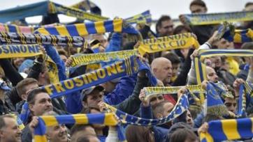 Болельщикам «Фрозиноне» по-прежнему запрещено поддерживать команду в выездных матчах
