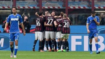 «Милан» вырвал победу в противостоянии с «Сассуоло»
