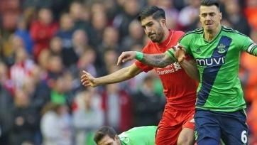В противостоянии «Ливерпуля» и «Саутгемптона» победитель выявлен не был