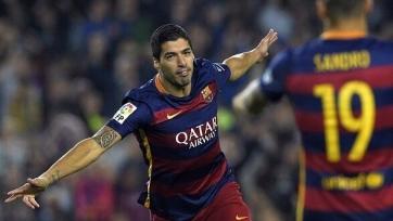 Хет-трик Суареса принёс «Барселоне» победу над «Эйбаром»