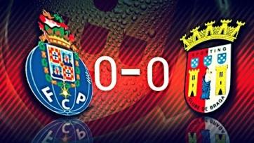 «Порту» потерял два очка в игре с «Брагой»