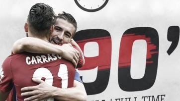 «Атлетико» не без хлопот одолел «Валенсию»