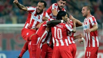 «Олимпиакос» повторил клубный рекорд почти 40-летней давности