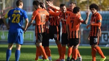 «Шахтёр» без проблем вышел в четвертьфинал Кубка Украины