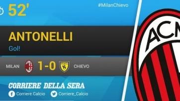 «Милан» справился с «Кьево»
