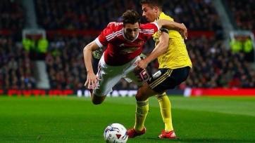 «Манчестер Юнайтед» вылетел из Кубка Лиги