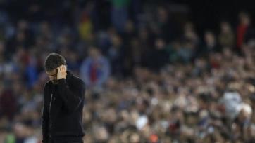 Луис Энрике провёл десятый кубковый матч у руля «Барселоны»