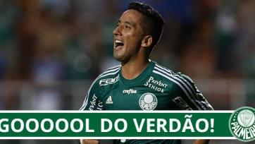 Лукас Барриос помог «Палмейрасу» выйти в финал Кубка Бразилии