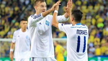 Киевское «Динамо» заработало три очка в матче с «Металлистом»