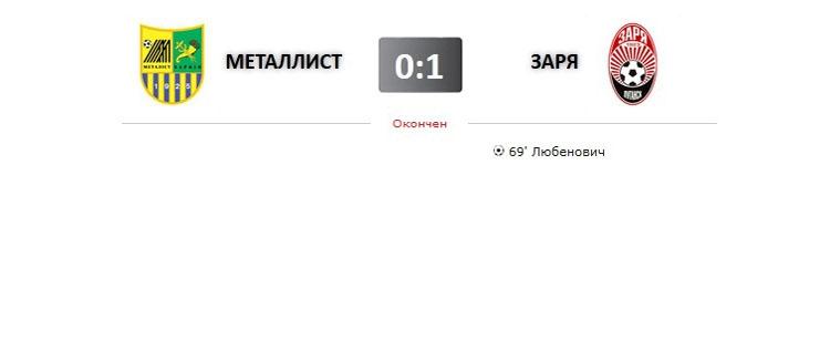 Металлист - Заря прямая трансляция онлайн в 20.30 (мск)