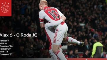 ПСВ и «Аякс» забили по шесть голов в 11-м туре Эредивизи