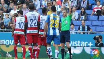 «Эспаньол» ушёл от поражения на последней минуте в матче с «Гранадой»
