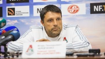 Игорь Черевченко: «Во втором тайме были хорошие моменты, забили два гола, могли забить ещё, но не получилось»