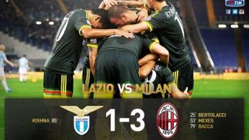 «Милан» добыл три очка в Риме