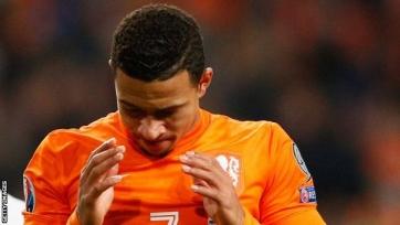 Ван Перси и Депай оказались вне заявки сборной Нидерландов