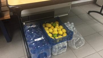 Лионцы подарили «Зениту» ящик лимонов
