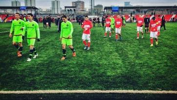 «Спартак» крупно уступил «Аяксу» в рамках юношеской Лиги УЕФА