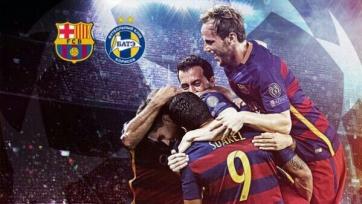 Стали известны стартовые составы «Барселоны» и БАТЭ