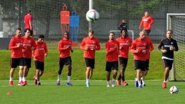 Футболисты «Спартака» до матча с «Тереком» базу в Тарасовке не покинут