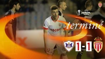 «Монако» не смог обыграть «Карабах»