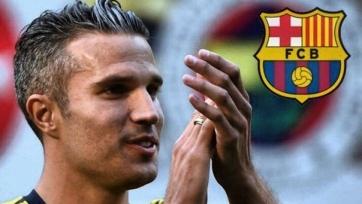«Барселона» провела переговоры с Робином ван Перси