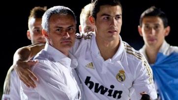 Криштиану Роналду считает Моуринью лучшим тренером в мире