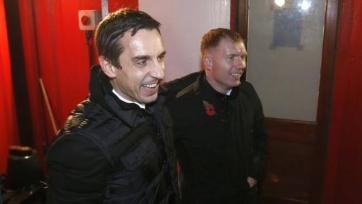Гари Невилл и Пол Скоулз