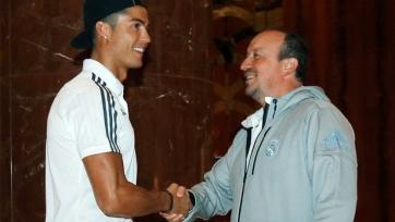 Бенитес: «Надеюсь, Роналду будет забивать голы и завоёвывать трофеи с «Реалом» ещё много-много лет»