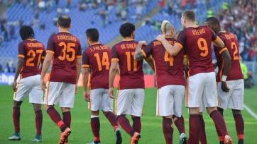 «Рома» оказалась сильнее «Лацио» в римском дерби