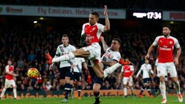 В матче «Арсенала» и «Тоттенхэма» победитель выявлен не был
