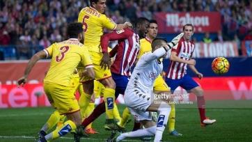 «Атлетико» вырвал победу у «Спортинга»