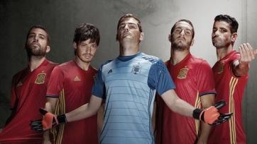 Сборная Испании на Евро-2016 сыграет в форме классического красного цвета