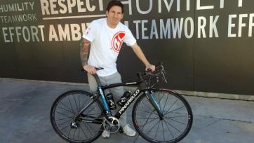Велокоманда Sky исполнила мечту Лионеля Месси
