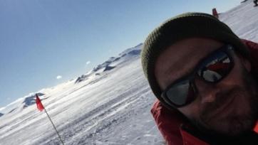 Дэвид Бэкхем прилетел в Антарктиду, и проведёт там благотворительный матч