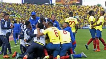 Сборная Эквадора взяла верх в матче с Уругваем