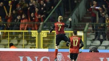 Бельгия одержала волевую победу над итальянцами
