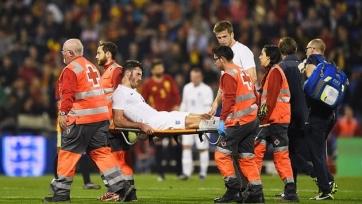 Каррик получил серьёзную травму в матче за сборную