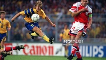 14-е июня 1992-го года. Томас Брулин забил единственный мяч в матче