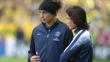 Кавани и Давид Луис не желают возвращаться в Париж