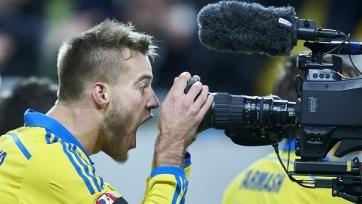 Андрей Ярмоленко признан лучшим игроком первого матча между Украиной и Словенией