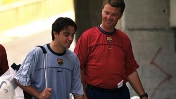 Хави: «Ван Гаал – прекрасный человек и отличный тренер»