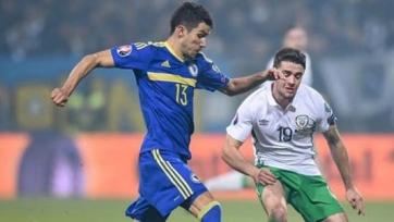 Стали известны стартовые составы к матчу между Ирландией и Боснией