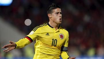 Шикарный розыгрыш и гол Хамеса Родригеса из раздевалки колумбийской сборной (видео)