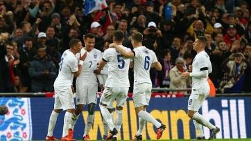 Англичане забили два безответных гола в ворота Уго Льориса