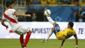 Сборная Бразилии разгромила Перу