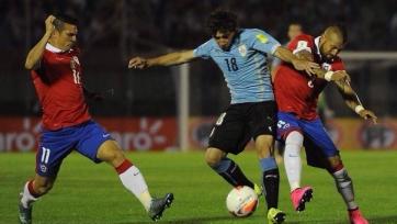 Сборная Уругвая одерживает убедительную победу над командой Чили