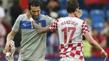 Буффон и Манджукич могут пропустить матч с «Миланом»