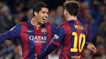 Суарес: «Сыграет ли Месси против «Реала»? Пока ещё не знаем»